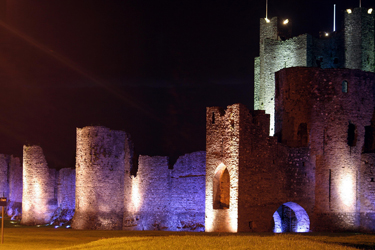 Trim Castle at Night