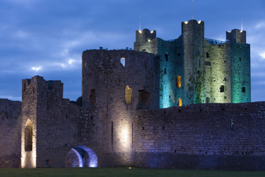 Trim Castle at Night, Trim, Co. Meath